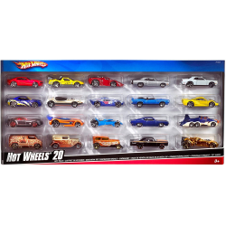 Chollo - Pack 20 Vehículos Hot Wheels (Mattel H7045)