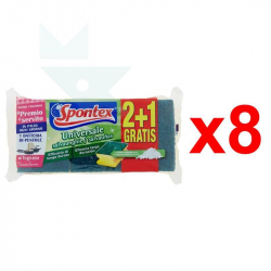 Chollo - Pack 24 Estropajos Salvauñas Universale Spontex (8x3uds)