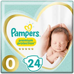Chollo - Pack 24 Pañales Pampers Premium Protection T0