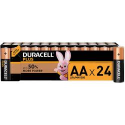 Chollo - Pack de 24 Pilas alcalinas Duracell Plus AA