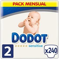 Chollo - Pack 240 Pañales DODOT Sensitive (4-8Kg)