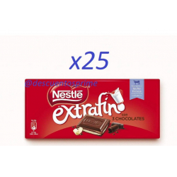 Chollo - Pack 25 Tabletas Nestlé Extrafino 3 Chocolates 25x120gr