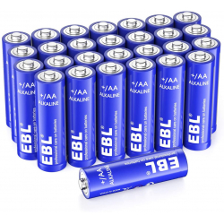 Chollo - Pack 28 Pilas Alcalinas EBL Alkaline AA 1.5V