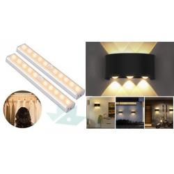 Chollo - Pack 2x Barras de Luz con Sensor + Aplique LED cree OUSFOT