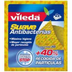 Chollo - Pack 2 Bayetas Vileda Suave Antibacterias