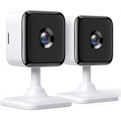 Chollo - Pack 2 cámaras de vigilancia Teckin Cam WiFi FHD