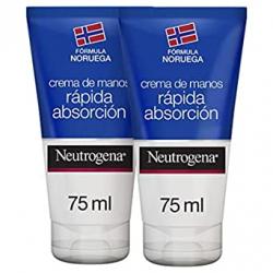 Chollo - Pack 2x Crema de manos Neutrogena rápida absorción 2x75ml