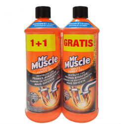 Chollo - Pack 2x Desatascador Mr Muscle Forza Power Gel (2x1L)