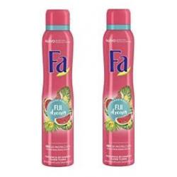 Chollo - Pack 2x Desodorante anti-transpirante Fa Fiji Dream Spray 200ml