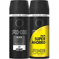 Chollo - Pack 2x Desodorante & Bodyspray Axe Black Fresh (2x150ml)
