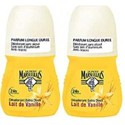 Chollo - Pack 2x Desodorante Le Petit Marseillais Leche Vainilla (2x50ml)