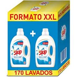 Chollo - Pack 2x Detergente Skip Active Clean 170 Lavados