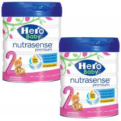 Chollo - Pack 2x Hero Baby Nutrasense Premium 2 6m+ Leche de Continuación (2x800g)
