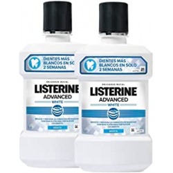 Chollo - Pack 2x Listerine Enjuague Bucal Blanqueador Avanzado (2x1000ml)