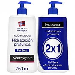 Chollo - Pack 2x Loción corporal Neutrogena Hidratación Profunda Piel Seca 2x750ml
