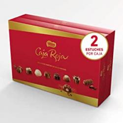 Chollo - Pack 2x Nestlé Caja Roja bombones de chocolate 2x800g