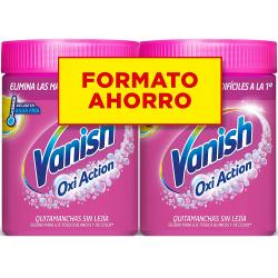 Chollo - Pack 2x Quitamanchas Vanish Oxi Action Polvo (2x900g)