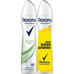 Chollo - Pack 2x Rexona Aloe Vera Desodorante Antitranspirante (2x200ml)