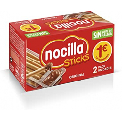 Chollo - Pack 2x Sticks Nocilla Original (2x30g)
