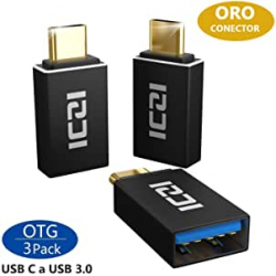 Chollo - Pack 3 Adaptadores ICZI USB-C a USB 3.0