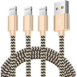 Chollo - Pack 3 cables USB a Lightning Zeuste - ZEU-G09-LT