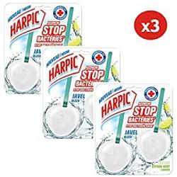 Chollo - Pack 3 Colgadores Harpic WC Stop Bacterias