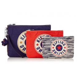 Chollo - Pack 3 Estuches con Pulsera Kipling IAKA L Wristlet