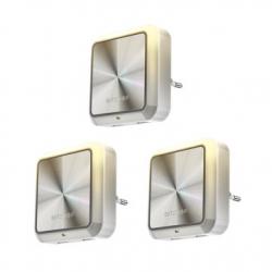 Chollo - Pack 3 Luces Nocturnas BlitzWolf BW-LT14 con Sensor de Luz