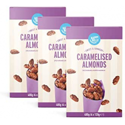 Chollo - Pack 3 paquetes almendras garrapiñadas Happy Belly 3x480g