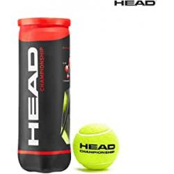 Chollo - Pack 3 Pelotas de Tenis Head Championship