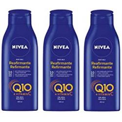 Chollo - Pack 3x Body Milk Reafirmante Nivea Q10 3x400ml