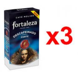 Chollo - Pack 3x Café Fortaleza Molido Descafeinado Forte (3x 235g)