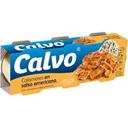Chollo - Pack 3x Calvo Calamares En Salsa Americana (3x80g)