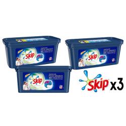Chollo - Pack 3x Detergente en Cápsulas Skip Ultimate Triple Poder Pieles Sensibles (96 Cápsulas)
