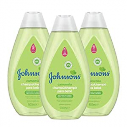 Chollo - Pack 3x Champú Johnson's Baby Camomila (3x500ml)