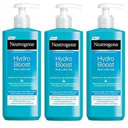 Chollo - Pack 3x Loción Corporal Hidratante en Gel Neutrogena HydroBoost (3x400ml)