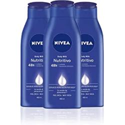 Chollo - Pack 3x Nivea Body Milk Nutritivo (3x400ml)