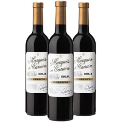 Chollo - Pack 3x Vino tinto Marqués de Carrión Reserva 3x750ml