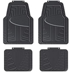Chollo - Pack 4 Alfombrillas para coche AmazonBasics - 812032624