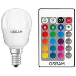 Chollo - Pack 4 bombillas OSRAM LED Retrofit E14 4.5W RGBW