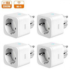 Chollo - Pack 4 Enchufes Inteligentes Zoozee Smart Socket (3300W)