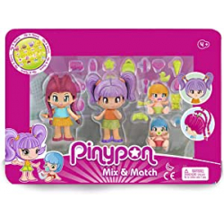 Chollo - Pack 4 figuras Pinypon New Look - Famosa 700015571