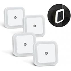 Chollo - Pack 4 Luces Nocturnas con Sensor
