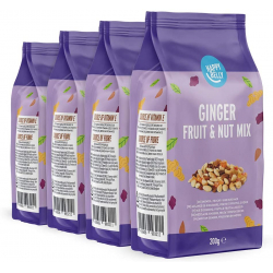 Chollo - Pack 4x Mix frutos secos Happy Belly 4x200g