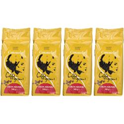Chollo - Pack 4 Paquetes Café en grano Consuelo Gran Aroma (4x500g)