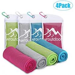Chollo - Pack 4 Toallas Awroutdoor de enfriamiento (100x30 cm)