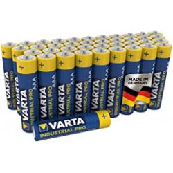Chollo - Pack 40 Pilas Alcalinas AAA Varta Industrial Pro LR03
