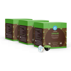 Chollo - Pack 48 Cápsulas Happy Belly Capuccino para Dolce Gusto (3x16)