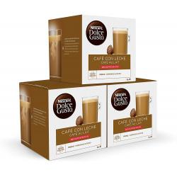 Chollo - Pack 48 Cápsulas Nescafé Dolce Gusto Café con Leche Descafeinado