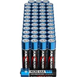 Chollo - Pack 48 Pilas alcalinas Ansmann Micro AAA